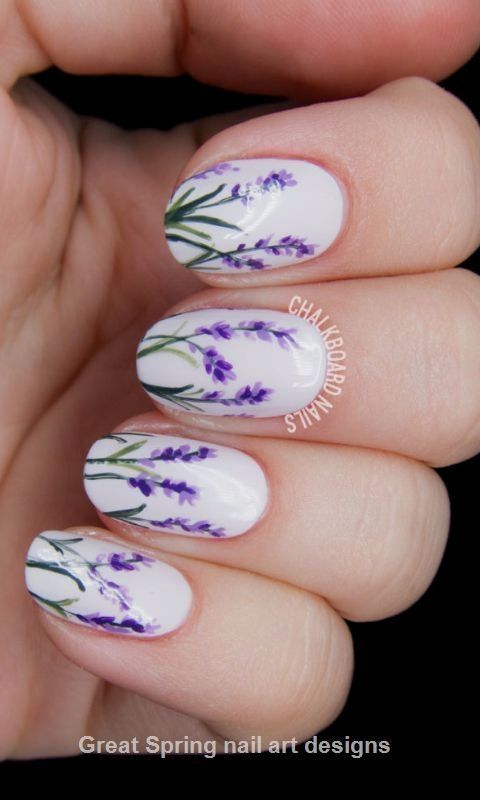 20 Great Spring Nail Designs 2019 Cool Nail Designs Trends