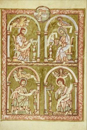 Les quatre évangélistes | Images Bible : Les Images de la Bible