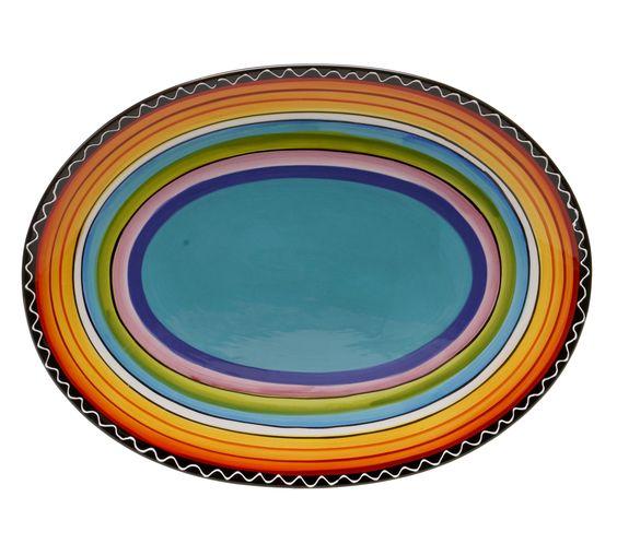 Sunrise Oval Platter