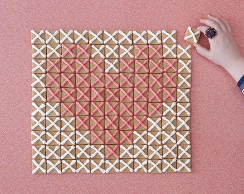 diy_crossstitch_cookies via Design*Sponge