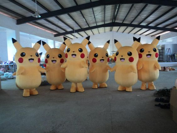 Hot Sale! Pikachu Mascot Costume Fancy Dress Outfit Pikachu Mascot Costumes Mascot Mask Mascot Costume For Kids From Feiying2315, $231.16| Dhgate.Com