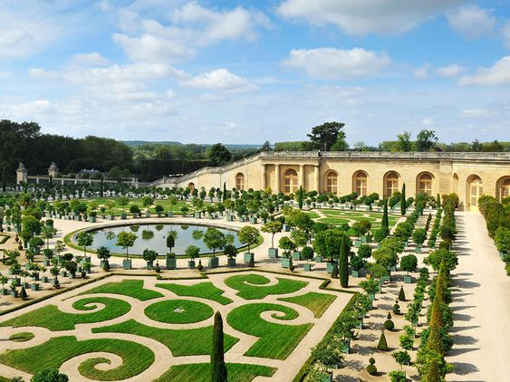 Image result for picture gardens of Versailles