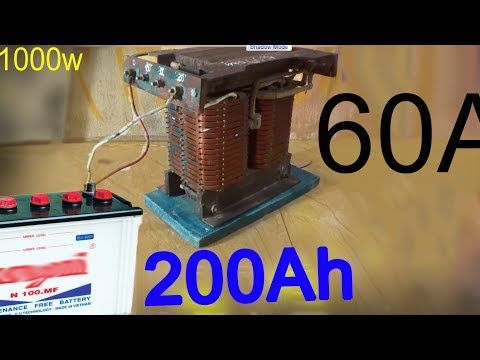 How To Make 20 Amp Diode Bridge Rectifier Youtube Charger Car Battery Charger Car Battery Charger