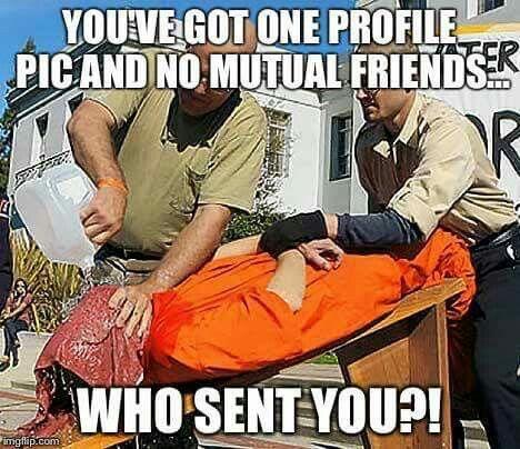 Lmmfao. . Yeah who sent you!?!