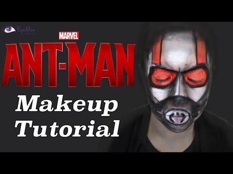 ▶ Ant-Man Inspired Makeup Tutorial by EyedolizeMakeup - YouTube