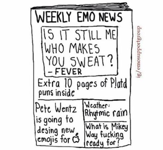 Weekly Emo News