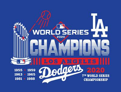 Los Angeles Dodgers 2020 World Series Champions Shirt La Champs Mookie Betts Ws Ebay In 2020 Dodgers Los Angeles Dodgers La Dodgers Baseball
