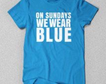 Panthers | On Sundays We Wear Blue | Panthers Tee | Panthers Shirt | Panthers T-Shirt | Carolina Panthers | Charlotte | Cam Newton