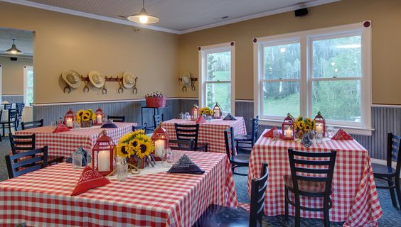 Caribbean Rehearsal Dinner Theme: Western-themed Rehearsal Dinner Idea At Mid-Mountain Lodge