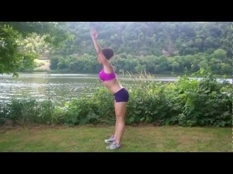 Body Weight Full Length Workout: Melissa Bender