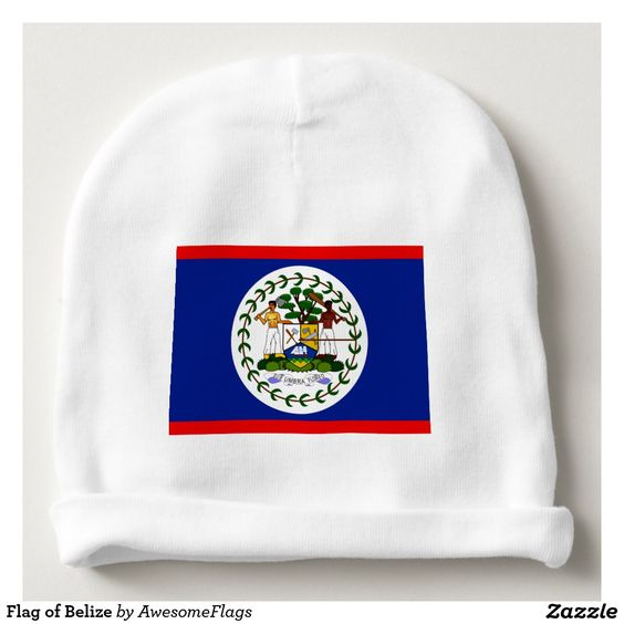 Flag of Belize Baby Beanie