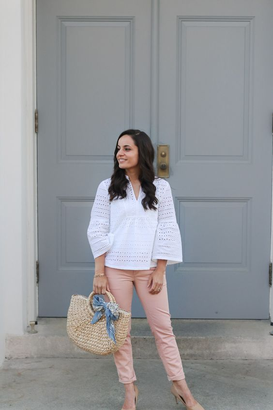 The Blush Pants That Actually Flatter My Curves By Pumps And Pushups