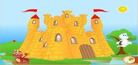 Os presento un juego con muchas actividades protagonizadas por uno de los habitantes típicos de los castillos: un fantasma. Se llama Fantasm...