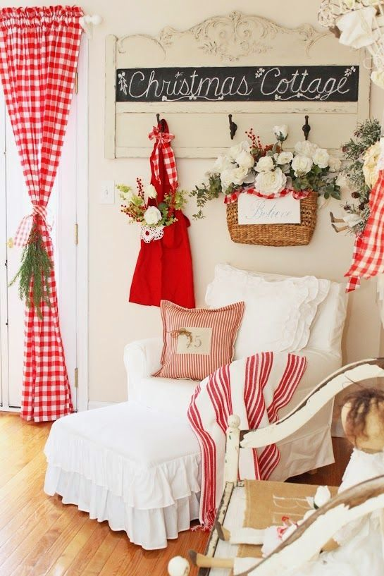 Nordic Farmhouse Christmas-Junk Chic Cottage-How I Found My Style Sundays Christmas Edition- From My Front Porch To Yours: