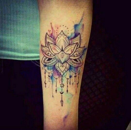 Flower-tattoo