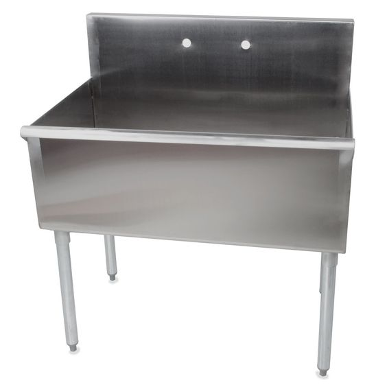 Utility Sink With Drainboard Freestanding : Sinks, Regency and Commercial sink on Pinterest