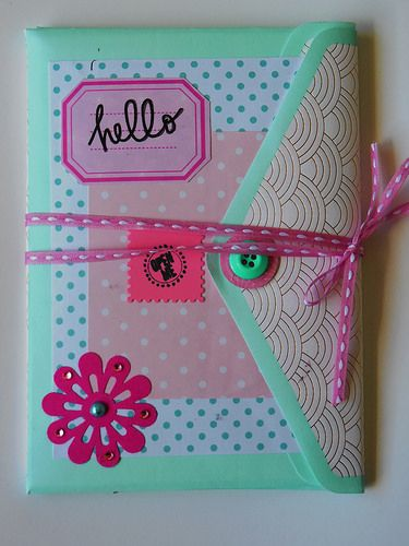 Snail mail booklet