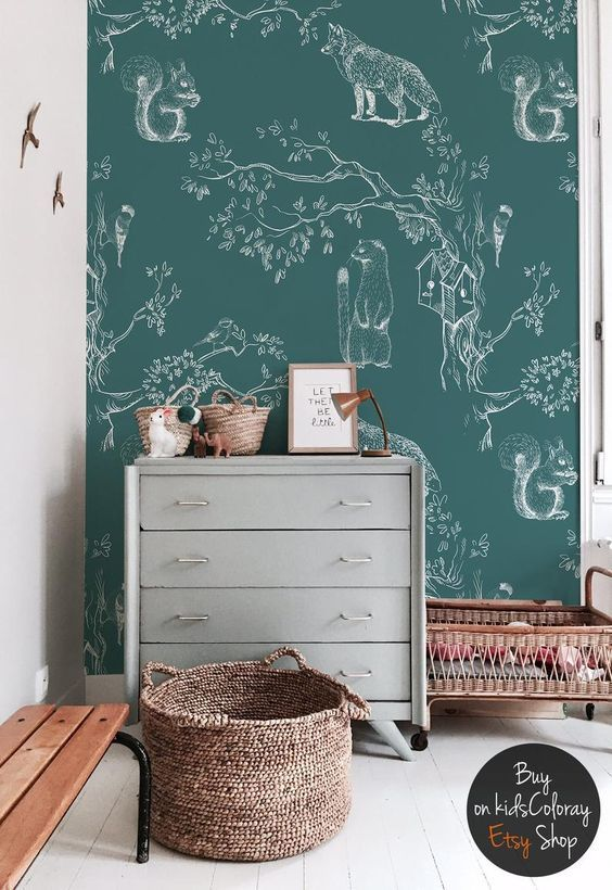 Des Idées Pour Une Chambre De Bébé Papier Peint Chambre