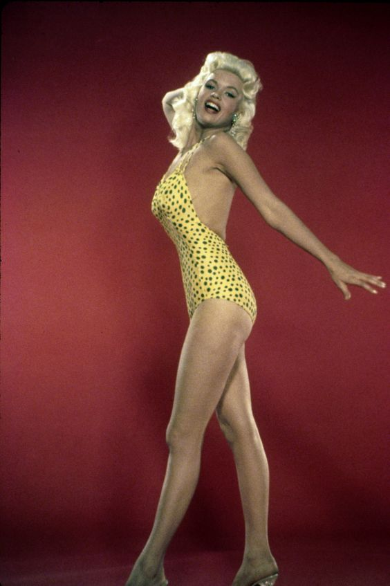 Jayne mansfield, Vintage swim and Cute bikinis on Pinterest