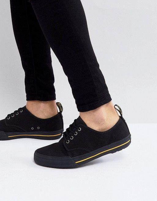 Dr Martens Pressler Canvas Sneakers In