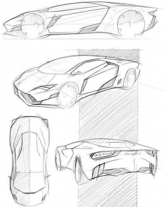 Pin Oleh Yarik Gavrilov Di Concept Cars Sketsa Produk Sketsa Behance