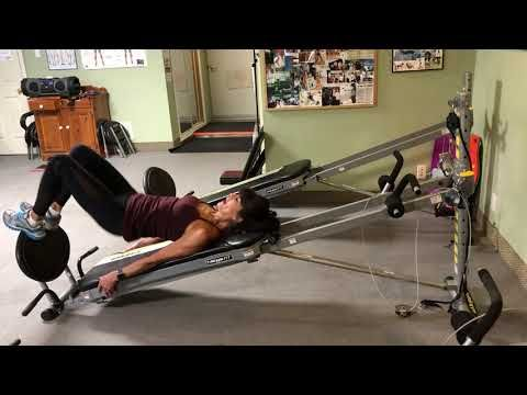 Introduction To Total Gym Workout Youtube Total Gym Workouts Total Gym Gym Cardio