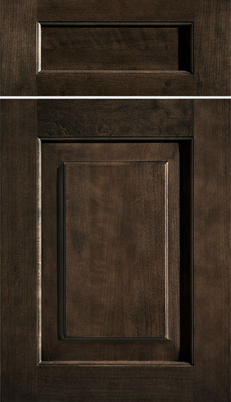 Hawthorne Inset Door - Poppy Seed Finish - by Dura Supreme