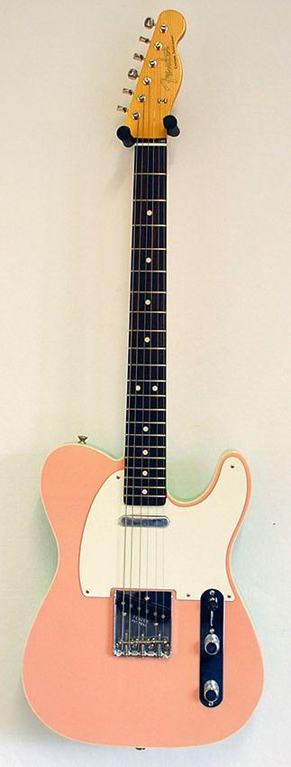 Fender CS Telecaster Custom NOS Shell Pink / SRG