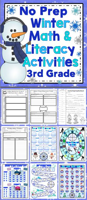 winter 3rd grade activities student and the o 39 jays. Black Bedroom Furniture Sets. Home Design Ideas