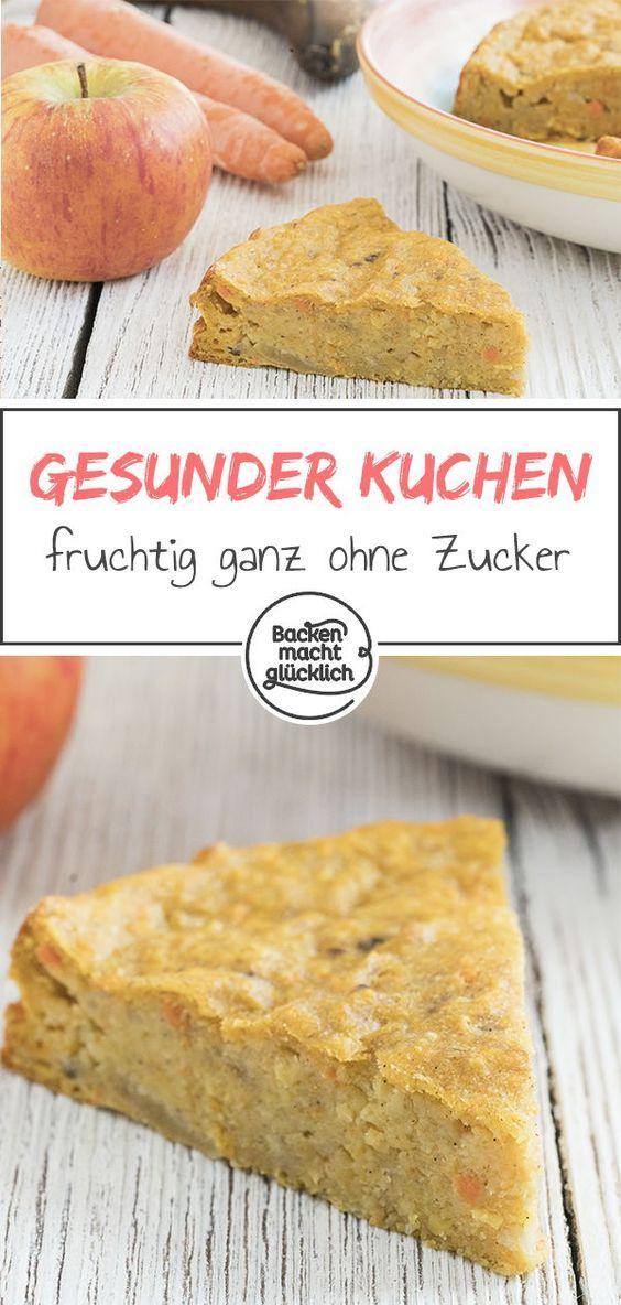 Apfel Mohren Kuchen Ohne Zucker Rezept Kuchen Ohne Zucker Kuchen Ohne Zucker Und Butter Und Mohren Kuchen
