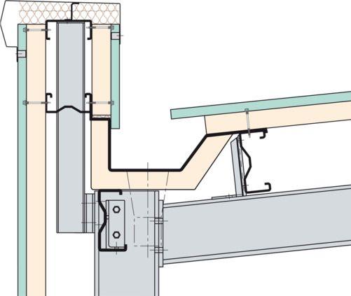Image Result For Internal Rain Gutter Detail Construcoes Metalicas Detalhes Da Arquitetura Sistemas Construtivos