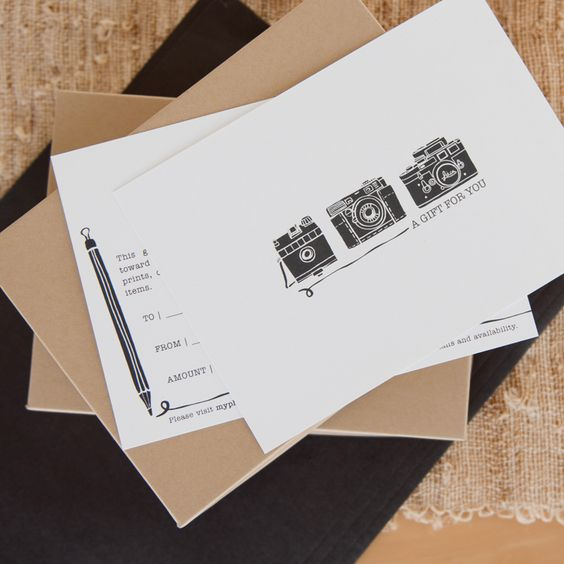 our creative type gift certificate templates for photographers combine