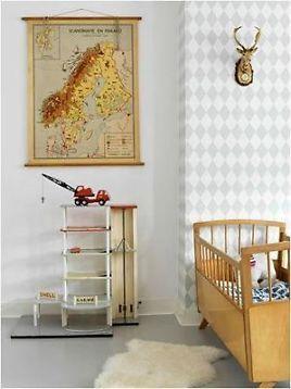 ≥ mooie vintage, retro meegroeibedjes voor hippe babykamer, Deco ideeën