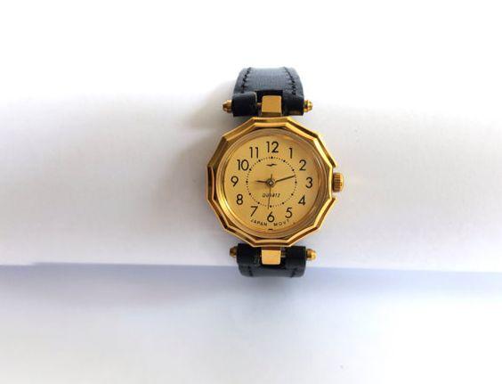 ON SALE. Gold vintage watch. Soviet watch Women's by Watcheee