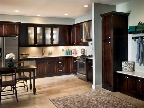 Kraftmaid Cabernet Shaker Cabinets Kitchens