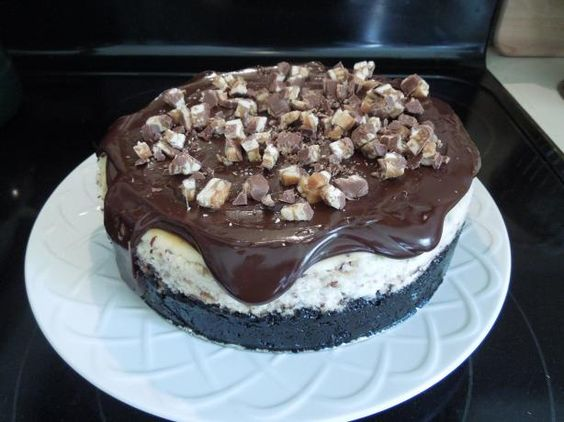 Sinful Snickers Cheesecake