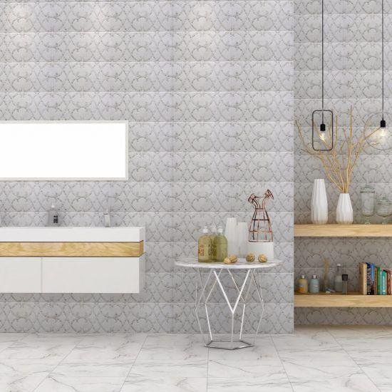 Bathroom مجموعة سيراميكا كليوباترا Bathroom Color Flooring Space Gallery