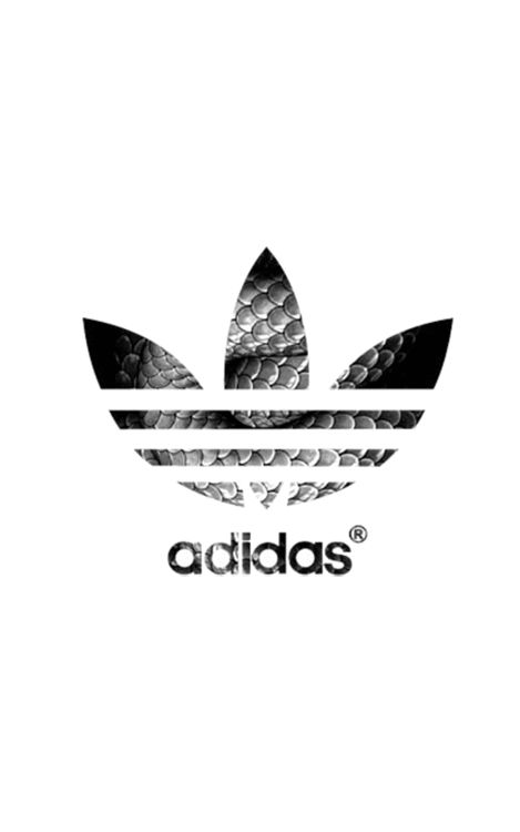 Gallery For gt White Adidas Flower Logo