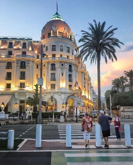 Le Negresco Hotel, Nice, France