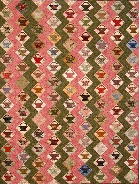 Little Basket quilt by Edyta Sitar