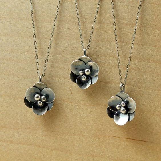 ThirtySixTen, flower necklace