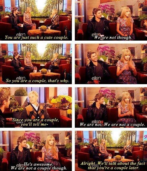 Ellen DeGeneres and Taylor Swift: