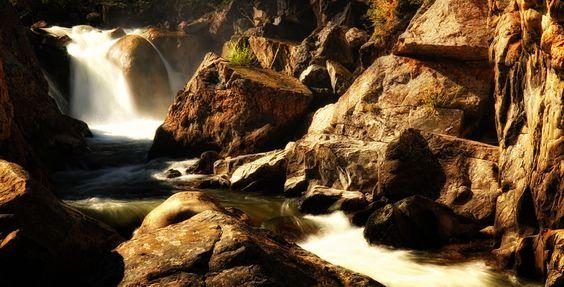 Poudre Falls 1 by Johnny Gomez, via 500px