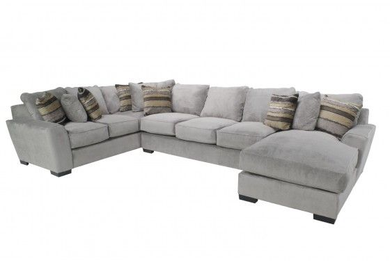 Oracle Down Right Facing Chaise Sectional Media Image 1