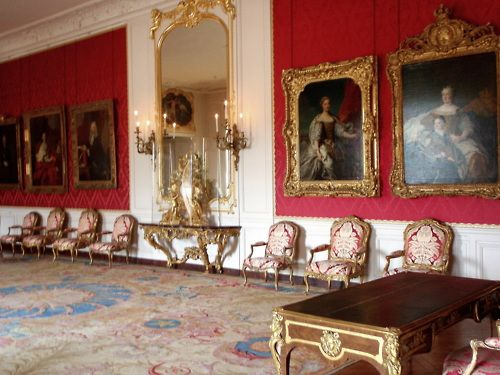 The Dauphine's (Marie Antoinette's) Dressing Room in Versailles