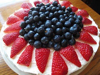 The Corner Kitchen: No Bake Berry Cheesecake