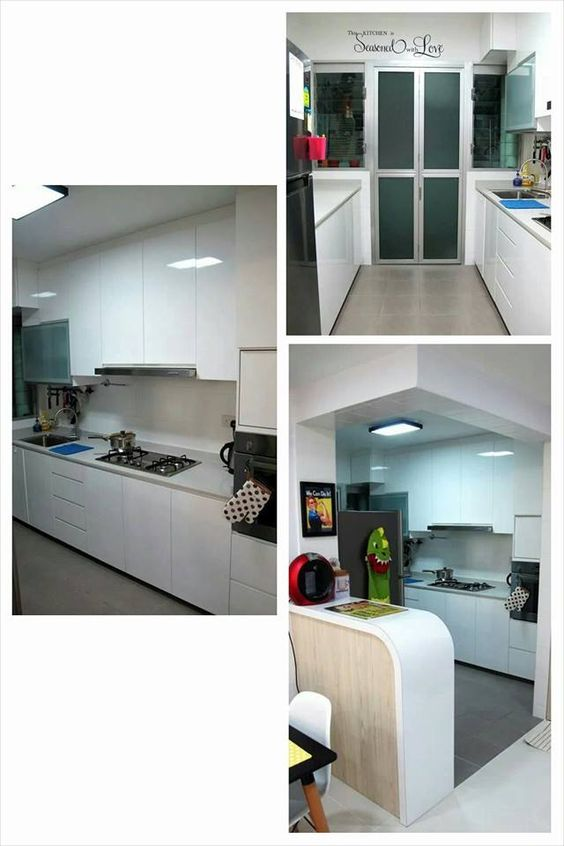 Bto Open Kitchen Concept Hacking Of Existing Wall For Island Kitchen Pic Source From Fb