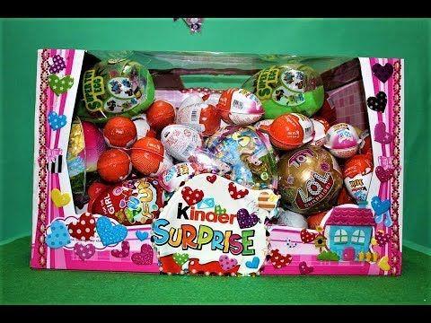 بيضة المفاجآت الكبيرة واحدة و 6 بيضات كندر جوي و كندر سبرايز العاب أطف Best Kids Toys Kids Toys Girl Bedroom Decor