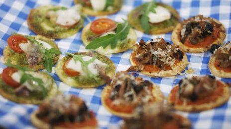 Eén - Dagelijkse kost - mini-tortillapizza's   Eén