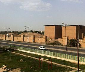 Nineveh mashki gate from west.JPG
